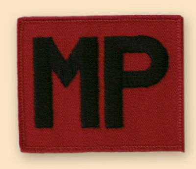NEW OFFICIAL MP Patch, colour.