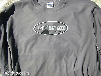 Mountain Bike T-shirt Cranknstein MTB Moto Cross ATV LS