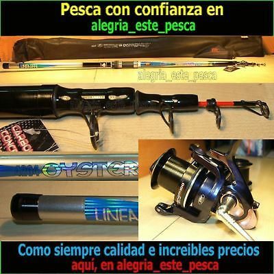 PESCA EQUIPO SURF CASTING OYSTER  4.20m + PHENOM 100