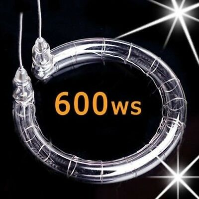 600WS Flash Tube Repair Studio Strobe Lamp Bulb Xenon Light 600J Flashtube Round