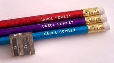 """Personalized PRISM """"Primary """" Pencils  with Sharpener"""
