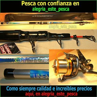 PESCA EQUIPO SURF CASTING (OYSTER CAST 4.20mts acc.250grs + DEEP RUNNER 80)