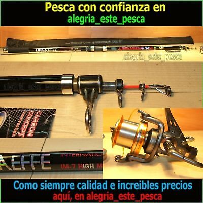 PESCA EQUIPO SURF CASTING (TURNAFRESH 4.20mts IM7 acc.250grs + DEEP RUNNER 80)