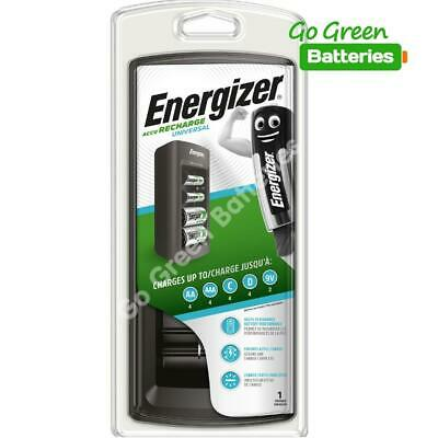 Energizer 3 Hour Universal Charger for AA AAA C D & 9V