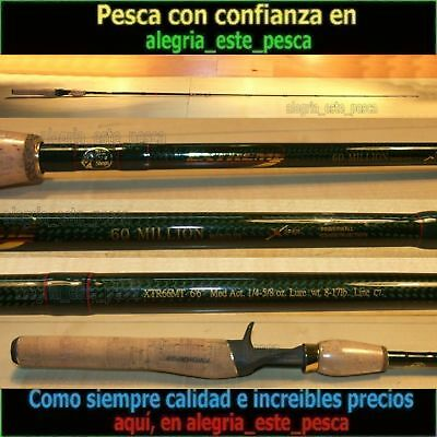 PESCA - CAÑA CASTING BASS PRO SHOPS EXTREME 60Mil 1.94m