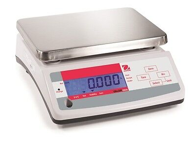 13 LB X 0.002 LB Ohaus V11P6T Compact Kitchen Food Scale With Dual Display NEW