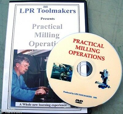 Learn to use a Milling machine DVD runs over 70min