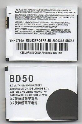 Lot 5 New Battery For Motorola Bd50 F3 F3C Snn5796A