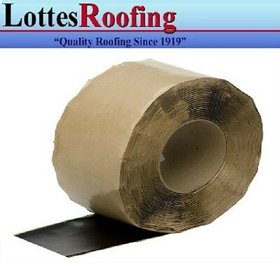 """12cases - 24 6"""" x100' rolls Cured EPDM rubber tape P & S"""