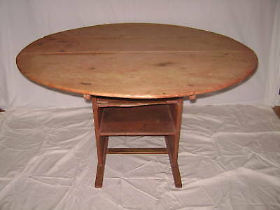 18th Century Shoe Foot Chair Table American Maine