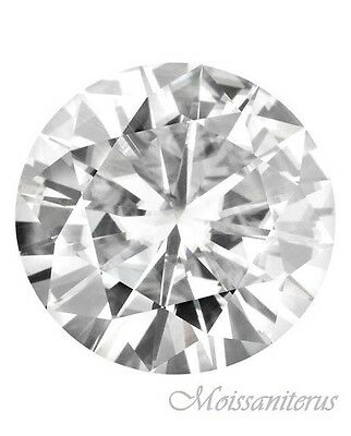 Loose Round Forever Classic 14.5mm Moissanite = 10 CT Diamond with Certificate