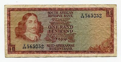 SOUTH AFRICA REPLACEMENT NOTE R1 P115 a F - SCARCE