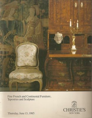 Christie's  French Furniture, Tapestries & Sculpture