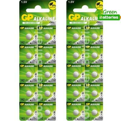 20 x GP LR41 192 1.5V Batteries GP192 AG3 392 SR41