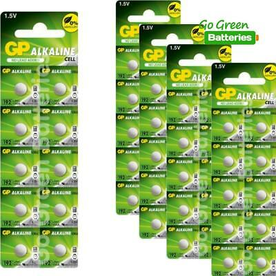 50 x GP LR41 192 1.5V Batteries GP192 AG3 392 SR41