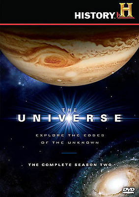 The Universe - The Complete Season 2 (DVD, 2008, 5-Disc Set) New
