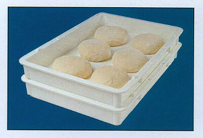 5 Polypropylene Self-Stacking Pizza Dough Boxes / Trays