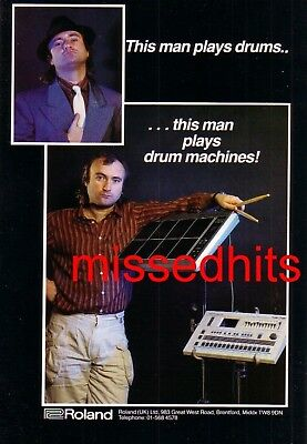 Phil Collins-1986 magazine advert