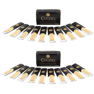Two Boxes Cecilio Alto Saxophone Reeds 2.5 ~ 20 Reeds