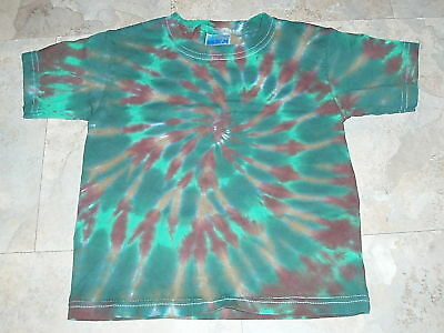 Hippie kids Tie dye dyed 2T Toddler boys t-shirt