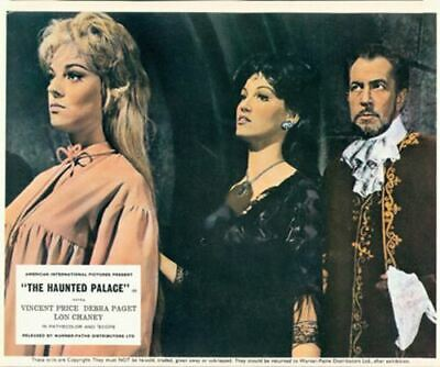 The Haunted Palace Vincent Price Debra Paget Lobby