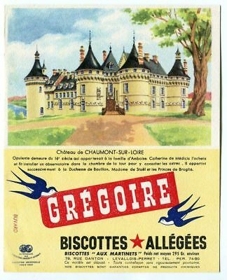 Buvard   Gregoire Biscotte Allegees  Chateau Chaumont