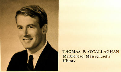 """1964 BRANDEIS UNIVERSITY YEARBOOK  """"Cameral"""" ~ Thomas O'Callaghan!"""