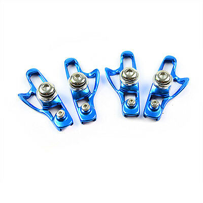 AICAN Ultralight Anode Road Bike Bicycle C-Brake Brake Shoes - Blue