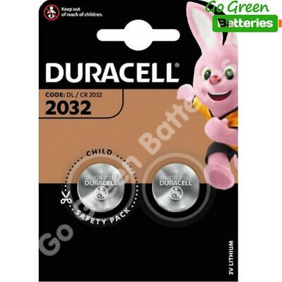 50 x Duracell CR2032 3V Lithium Coin Cell Battery 2032, DL2032, BR2032, SB-T15