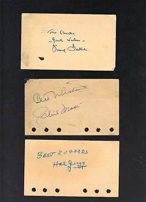 Frank Gustine Cubs Pirates signed autographed GPC