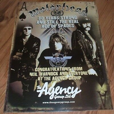 Motorhead-2005 magazine advert