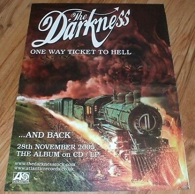 The Darkness-2005 magazine advert
