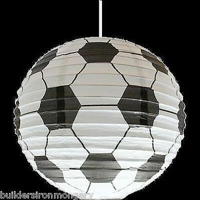 boys football ceiling pendant light shade NEW IN PACK