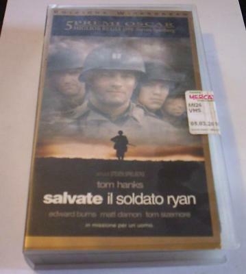 SALVATE IL SOLDATO RYAN film VHS Tom Hanks Guerra