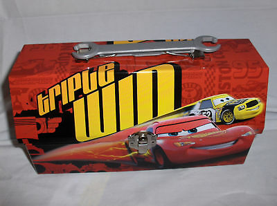 Lightning McQueen-Triple Win`Lunchbox`With Little Wrench Handel->Free To US