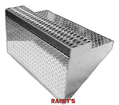 Peterbilt 379 Aluminum Battery Box Lid with Top Step