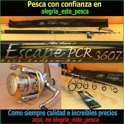 EQUIPO PESCA SPINNING - ESCAPE PCR 3.60mts + PHOENIX 50