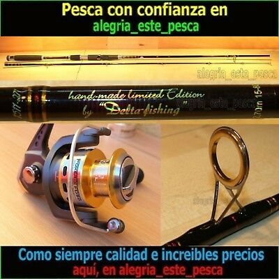 EQUIPO PESCA SPINNING - RED PANTHER 2.70mt + FOXER FD50