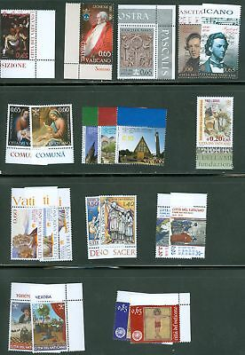 Vatican City 2010 Compete MNH Year Set