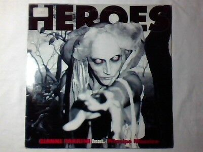 "GIANNI PARRINI Heroes 12"" DAVID BOWIE RARO"