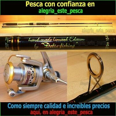 EQUIPO PESCA SPINNING - RED PANTHER 2.70mt + PHOENIX 25