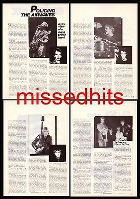 The Police-1979 magazine article