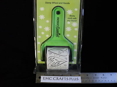 """ROLLAGRAPH  STAMP WHEEL """"DANCING HEARTS""""  TOOL ~ LOVE"""