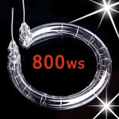 800WS Flash Tube Repair Studio Strobe Lamp Bulb Xenon Light 800J Flashtube Round