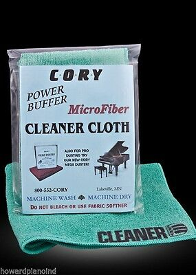 Cory Cleaner Cloth - For cleaning your piano