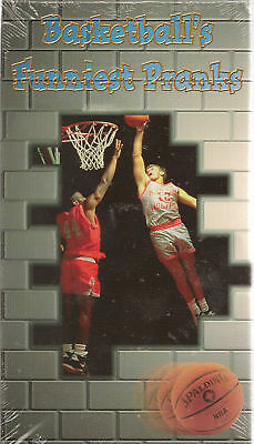 Sports Pages Basketball's Funniest Pranks VHS New barkley