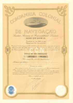 Colonial Navigation Cruise   Lisbon Portugal bond share