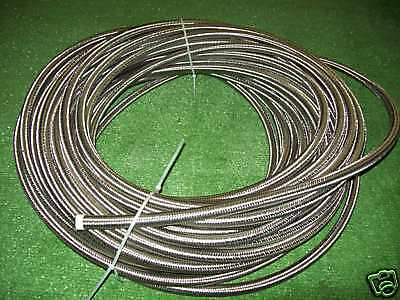 Goodridge 200-06 -6 AN Braided Stainless Steel Fuel Line Hose or Trans Line Hose