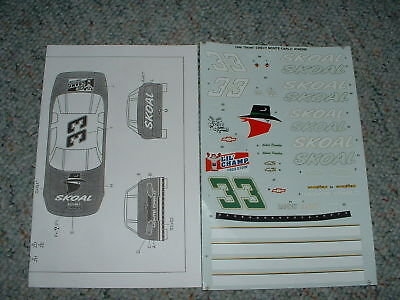 Modelers Choice decals #33 Skoal Chevy Monte Carlo CC