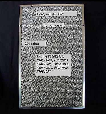 """Honeywell 203372 & 203369 Prefilter for 20"""" F300 , F50F Electronic Air Cleaner"""